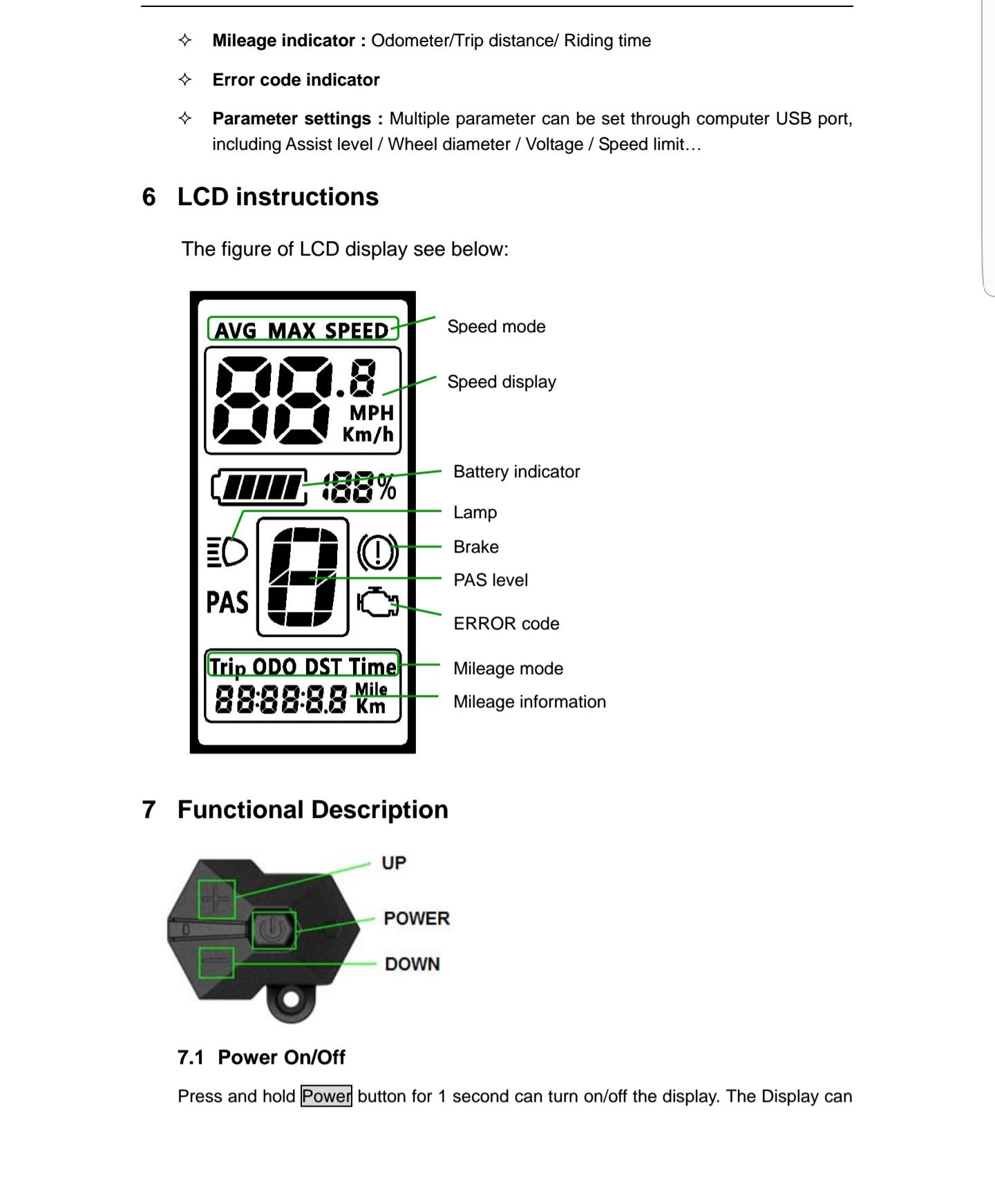 BAFANG 8FUN BBS 01 02 HD дісплей С965 інструкція на українській