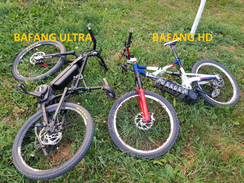 bafang ultra vs HD