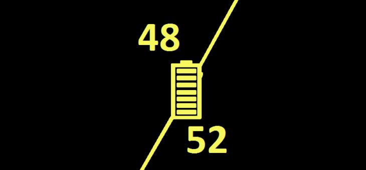 Что лучше 36v, 48v, 52v?
